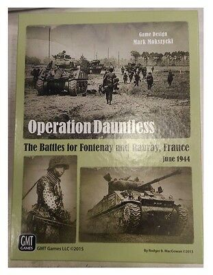 Operation Dauntless,Wargame by GMT Games, USED, English Edition