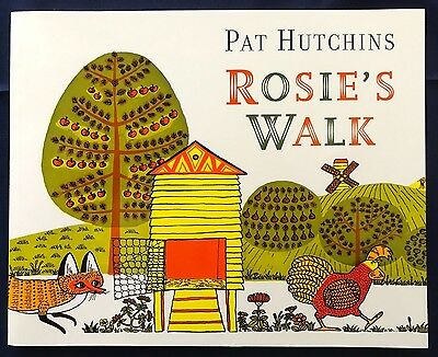 Rosie's Walk by Pat Hutchins (Paperback, 2006) Near Wordless Picture Book