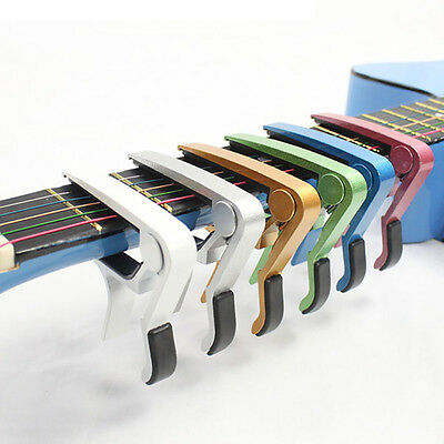 Advanced Guitar Capo Quick Change Tune Clamp Acoustic Electric Classic Guitar XL
