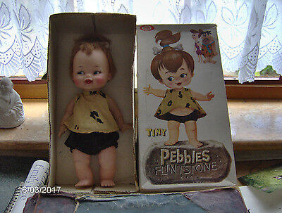 Tiny Pebbles Flintstone Doll