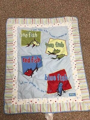 Complete Dr Suess One Fish Two Fish Nursery Set