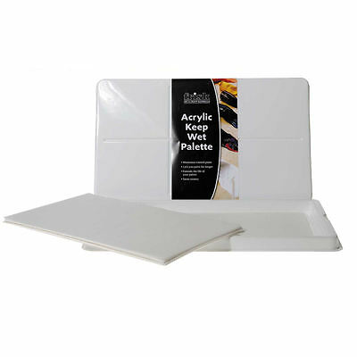 Frisk Stay Wet Acrylic Keep Wet Mixing Palette - Staywet