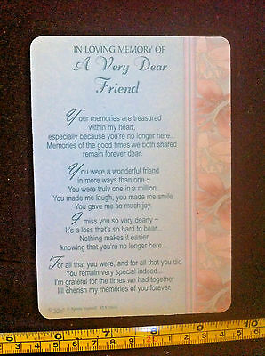 In Loving Memory Of A Dear Sister At Christmas Poem Plastic Gift