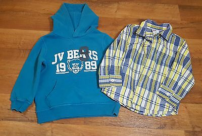 Childrens Place Healthtex Toddler Boys Sweatshirt and Top Size 2t 24 months