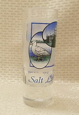 Salt Lake City Utah Tall Shot Glass