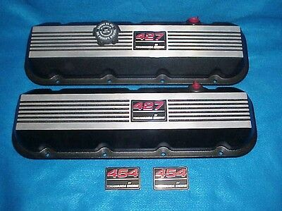 New Take Off Big Block Chevy Aluminum Valve Covers 396 427 454 502 Bbc