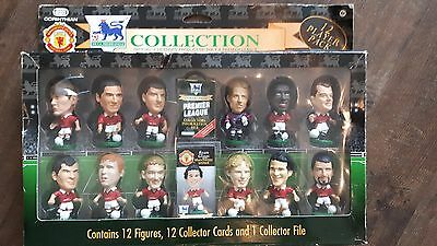 Collectible - Boxed 1997 Manchester United Corinthian Collection of 12 Figures