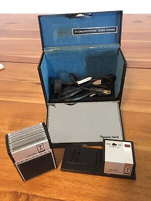 Vintage 1960's Remington Cv 800 Electric Shaver With Case And Charger