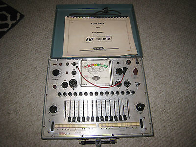 Eico Model 667 Tube and Transistor Tester
