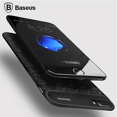 Baseus Ultra Slim External Backup Power Bank Battery Case For iPhone 6 6S 7 Plus