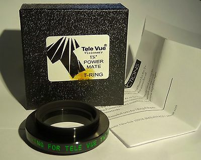 "New In Box - Tele Vue Visionary 1.25""  (1 1/4"") PowerMate T-Ring Adapter"