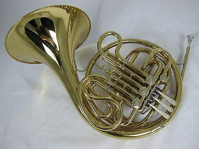King 4-Valve Full Double French Horn 1978 - Lacquer (used instrument)