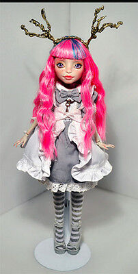 """Monster High OOAK Repaint by Necca Arcaena """"Gothic Alice"""" Gorgeous High Quality"""