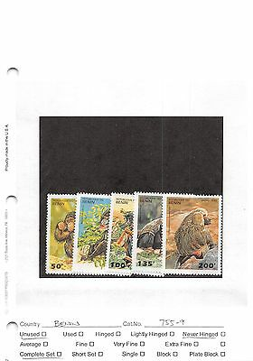 Lot of 27 1995 - 1999 Benin MNH Mint Never Hinged Stamps #98590 X R