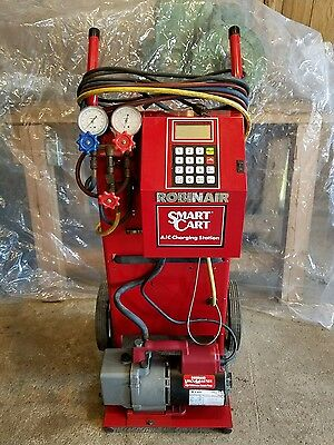 Robinair Smart Cart Automatic A/C Charging Station Model 10295A R12,R22,R500,502