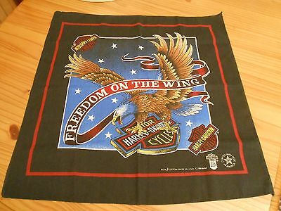 "Harley Davidson Bandana ""Freedom On The Wing"""