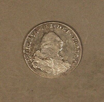 1800 Great Britain 2 Pence Silver George III High Grade ** FREE U.S. SHIPPING **