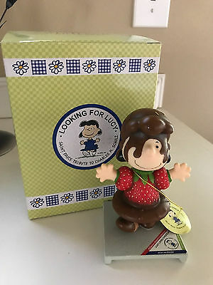 Westland Giftware Looking for Lucy Peanuts Lucy Loves Chocolate NIB