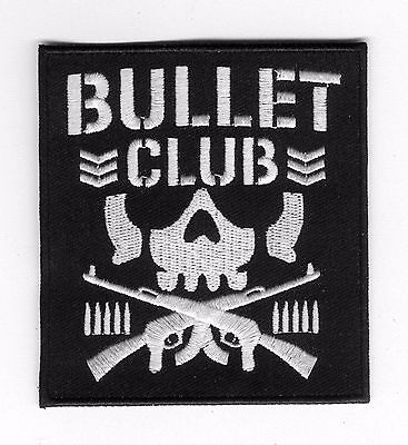 🔥NJPW BULLET CLUB Iron-on Logo PATCH-New Japan Pro Wrestling Kenny Omega/4-LIFE
