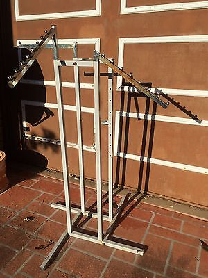 Clothing Rack 4 Way/Arm Display Clothing Stand Height Adjustable