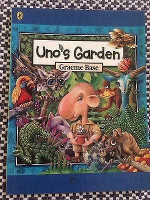 UNO'S GARDEN - Graeme Base - Small Soft Cover Book