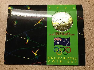 Royal Australian Mint 1992 Barcelona Olympic Games Proof/Uncirculated Coin Set