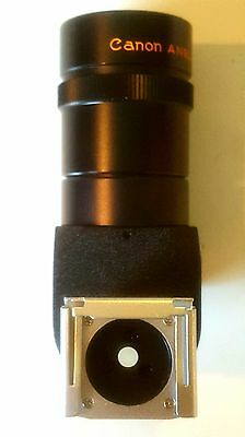 Canon Angle Finder B W/ Adapter S - Box And Instructions - Never Used