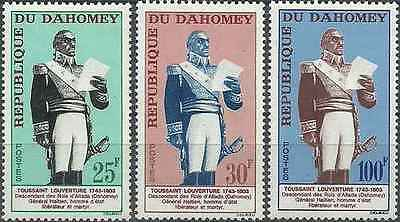 Timbres Personnages Dahomey 199/201 * lot 21639