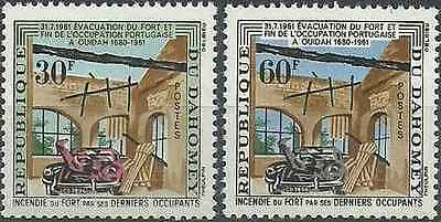 Timbres Dahomey 172/3 * lot 21643