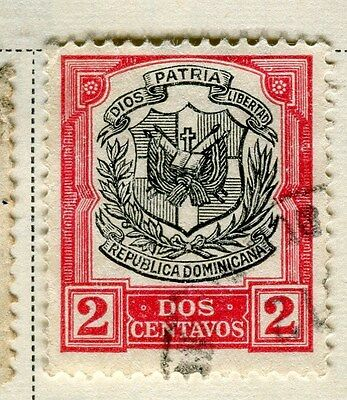 DOMINICA;   1907 early definitive issue fine used 2c. value