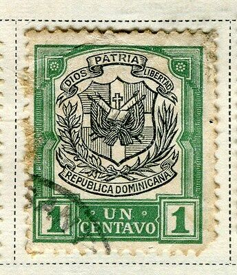 DOMINICA;   1907 early definitive issue fine used 1c. value