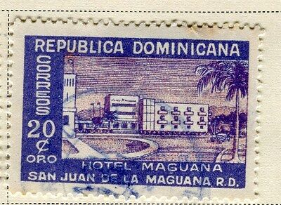 DOMINICA;  1950 early Hotel issue fine used 20c. value