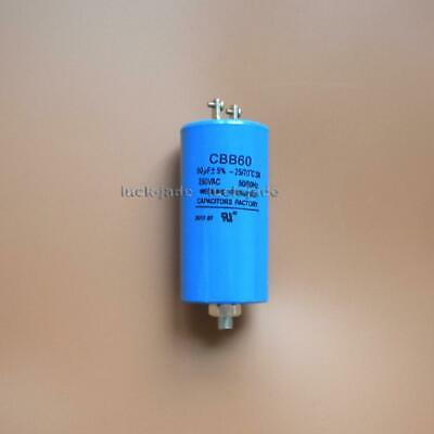 CBB60 RUN CAPACITOR UL listed 250V AC 60uF 60 uF 60MFD 43x84mm W
