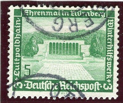 GERMANY;   1936 early Winter Relief issue fine used 5pf. value