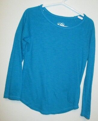 Euc Size 6 Girls Justice Long Sleeve Top Bts