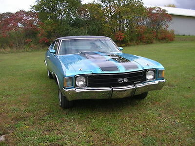 1972 Chevrolet Chevelle SS muscle cars