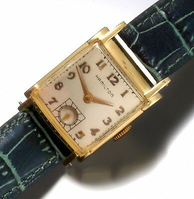 Hamilton Grade 982 Watch 19-Jewel Manual Wind Movt' Vintage from 1940s