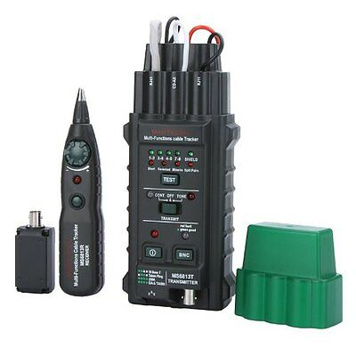 SY MASTECH MS6813 Network Cable / Telephone Line Tester Detector Tracker BNC RJ4