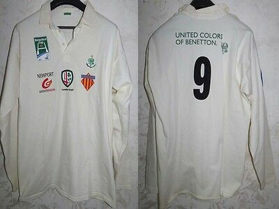 Maglia Shirt Jersey Rugby Benetton Treviso Italy Size Xxl Old Rare Vintage Cup