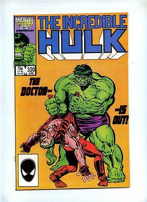 Incredible Hulk #320 - Marvel 1986 - VFN/NM
