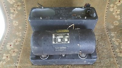 Vintage MD-7/ARC-5 Radio Power Unit US NAVY 28 VOLTS DC WW2