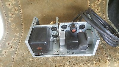 Vintage MILITARY WW2 UNIT DATED AUG 28 1944 UNKOWN UNIT FOR PARTS