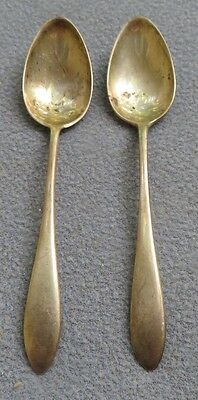 TWO Gorham Sterling Silver Mothers Teaspoons