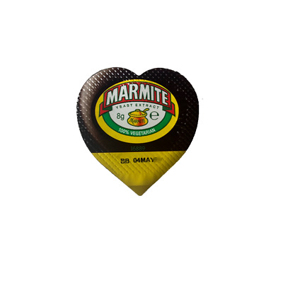 Marmite Individual 8g Portions Spread - Yeast Extract - FREE P&P