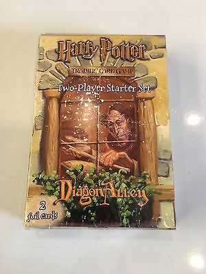 HARRY POTTER TRADING CARD GAME - Two-Player Starter Set Diagon Alley -NEW Rare**