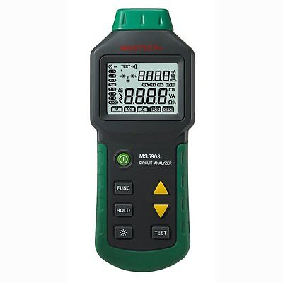 SY Mastech MS5908 Ture RMS Circuit Analyzer Tester Compared with Ideal Industrie