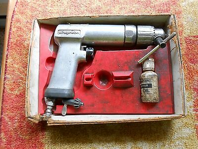 """USED Snap On PDR5A 1/2"""" Reversible Heavy Duty Pneumatic Air Drill USA"""