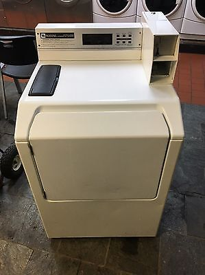 White Maytag MAH20 Commercial Coin Operated Neptune front load Washer Laundromat