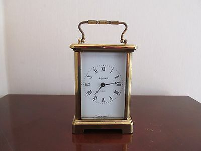 Vintage French Bayard  8 Day Carriage clock