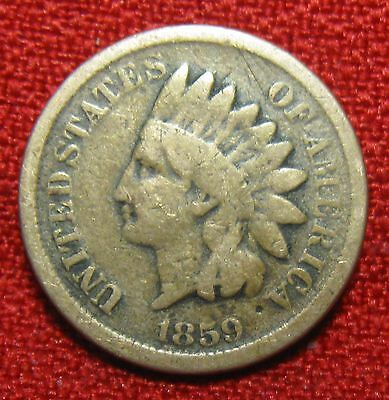 Excellent Early 1859 Indian Head Cent